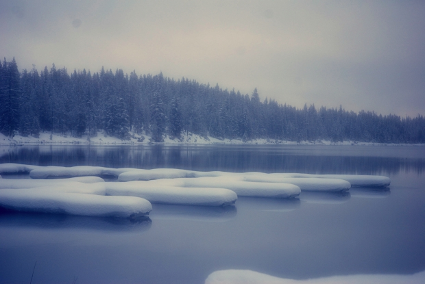 Scenic Crescent Lake